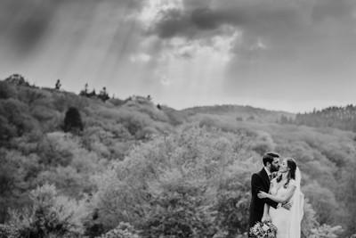 Landscape wedding photography