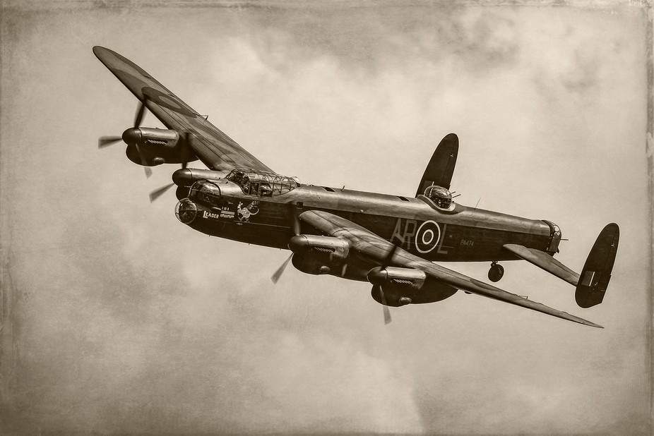 Avro Lancaster of the RAF Battle of Britain Memorial Flight
