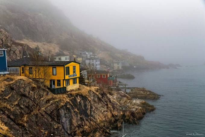 Foggy Day by robwill236 - It is Yellow Photo Contest