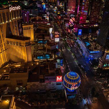The strip, 'Vegas