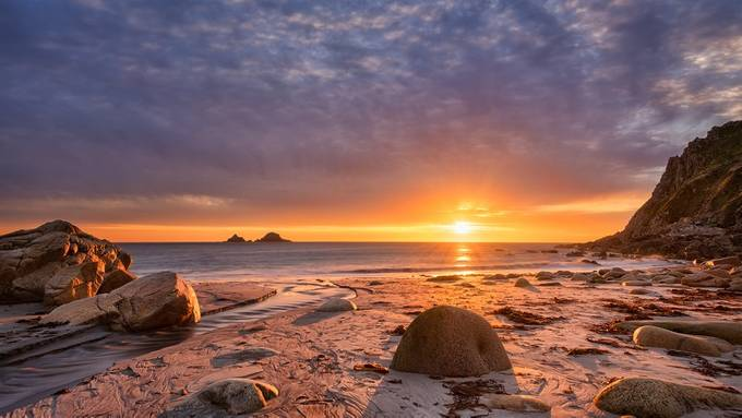 Porth Nanven sunset  by Pete_Rowbottom - We Love The Summer Photo Contest