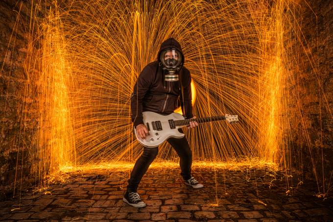 Alex Fire Cordo  by pelopidas371 - Music And Concerts Photo Contest
