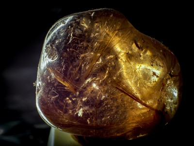 Venus hair rutile quartz