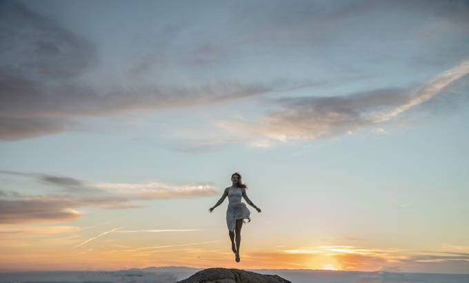 Floating in the sunset by Osterholtz - Health And Fitness Photo Contest