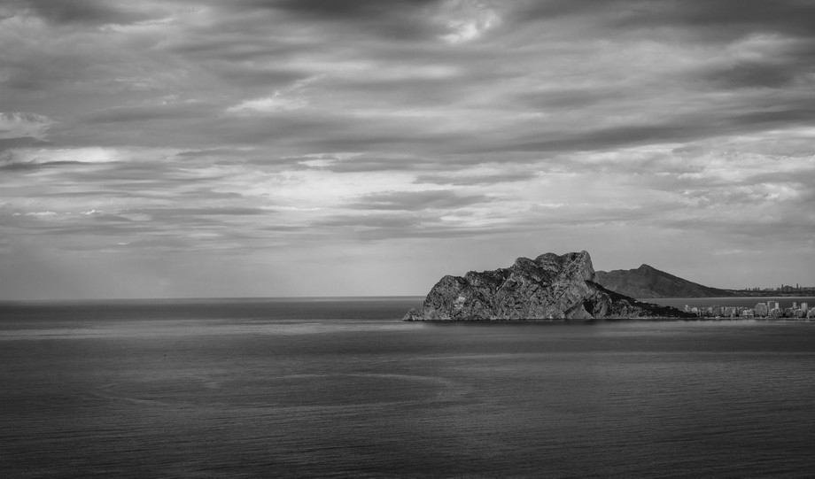 Calpe from Cap d'Or