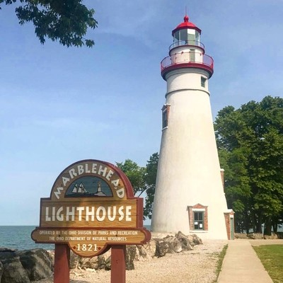 A little light never hurts.   Marblehead Lighthouse, Ohio