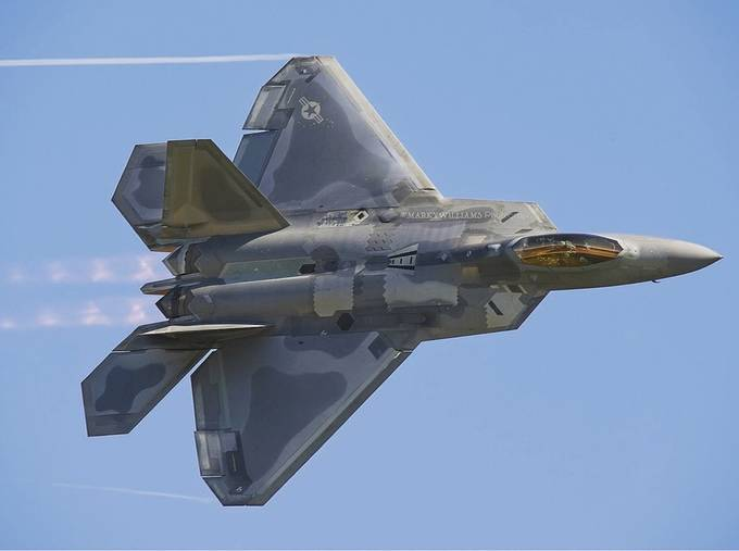 F22 Raptor by MarkyWilliamsPhotography - Aircrafts Photo Contest