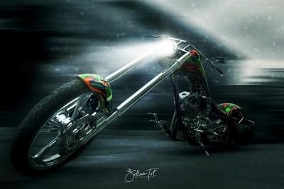 Arctic Motorcycle
