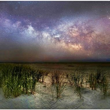 This image of the Milky Way was captured off Long Beach Island (LBI) New Jersey on 3-23-18  ISO 6400; 25 Sec; f/4.0 Canon 5D MKIII, 8-15mm f/4.0 (12mm)