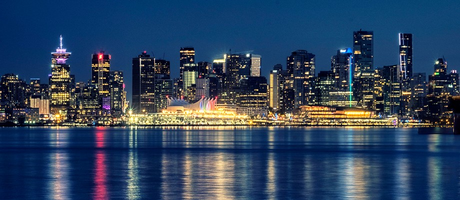 Looking at Vancouver from North Shore