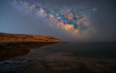 Milky Way in the Sea.