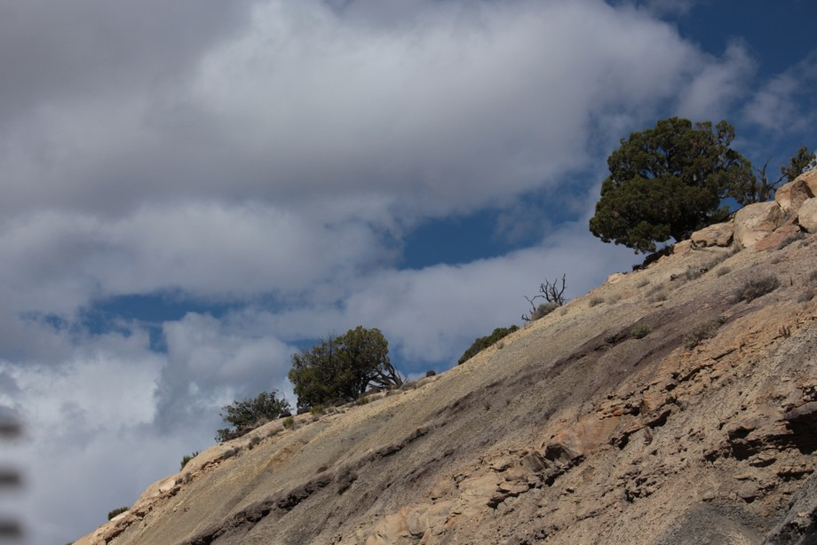 taken along the drive through the Salina region in Utah, mid morning in late May along the I 70.