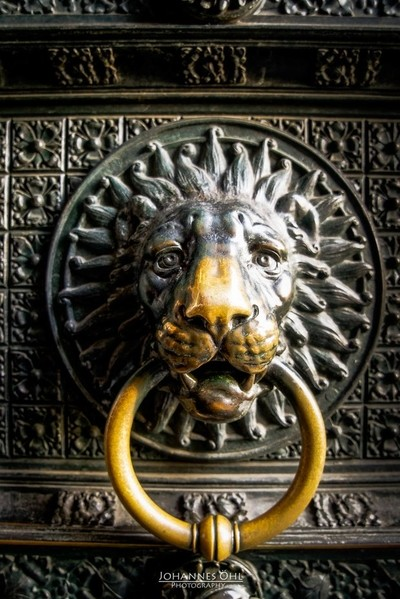 Door knocker at Cologne Cathedral