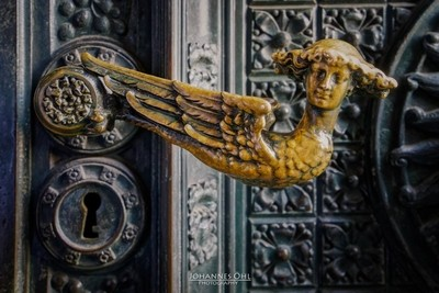 Door handle  at Cologne Cathedral