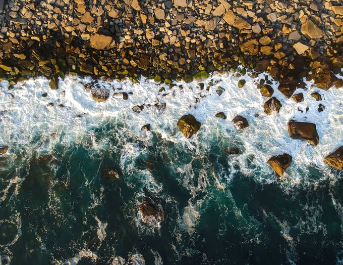 Waves by seanorphoto - Boulders And Rocks Photo Contest