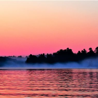 Before the sun came up on Rainy Lake!