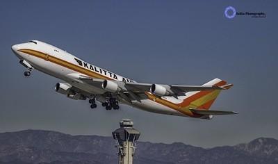 """Kalitta Air Departs"""