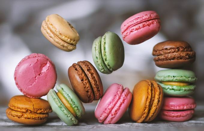 Macaroon party by daliaa - Composing With Circles Photo Contest