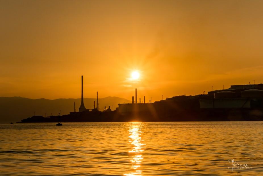 Sunset at Ostro, Kraljevica,