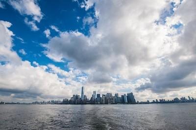 NYNY Skyline from Ellis Island Ferry