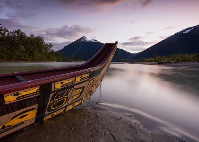 Traditional Tlingit Canoe by ManuKeggenhoff - Covers Photo Contest Vol 48