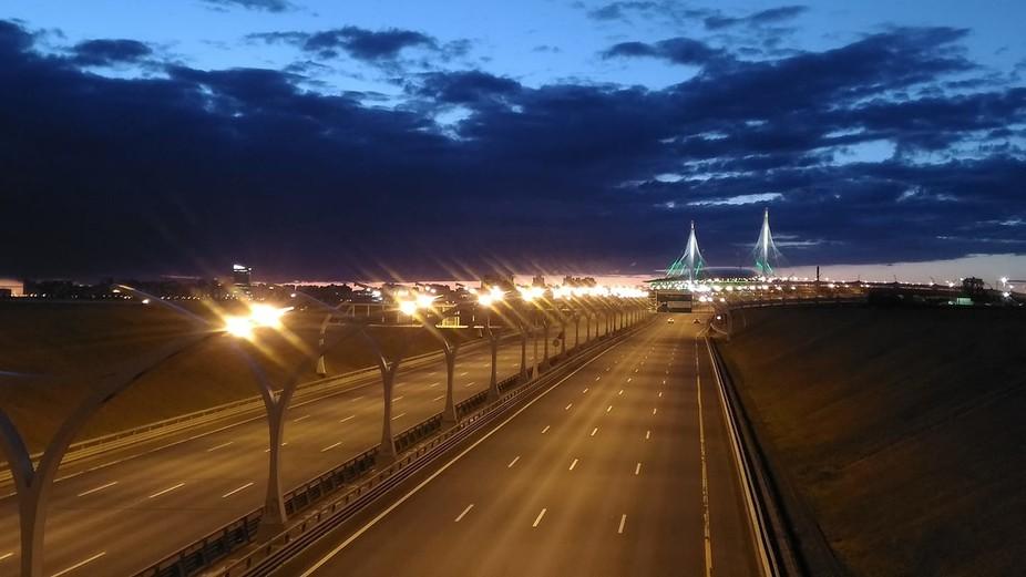 Saint-Petersberg, Western high-speed diameter