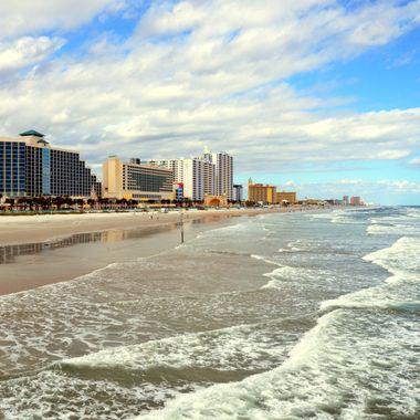Daytona Beach ocean beach landscape