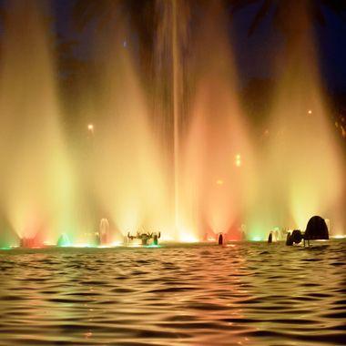 Illuminated Fountains Salou