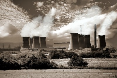 Cooling Towers near Lincoln UK