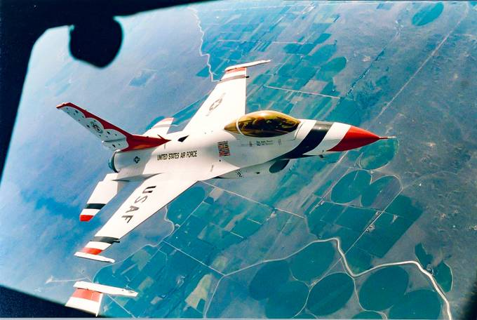 US Air Force Thunderbirds 1 by MagicMikePhotography - Aircrafts Photo Contest