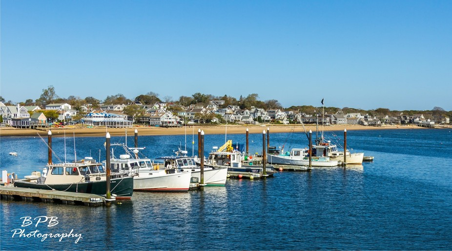The fishing fleet in Provincetown, MA