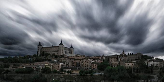 Toledo by miguellopezdeharo - The Moving Clouds Photo Contest