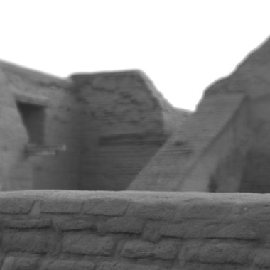 I took this shot at the ruins of Nuestra Señora de los Ángeles church at Pecos Pueblo National Historic Site, near Pecos, New Mexico. I used a Canon 80D and a Lensbaby Velvet 85 lens to achieve this effect. This is basically the camera image with almost no processing.