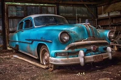 1953 Pontiac Cheiftain (Shed Find)