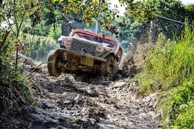 Mud run fun