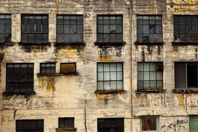 Old warehouse in Astoria Oregon by Mspradlin - Warehouses Photo Contest