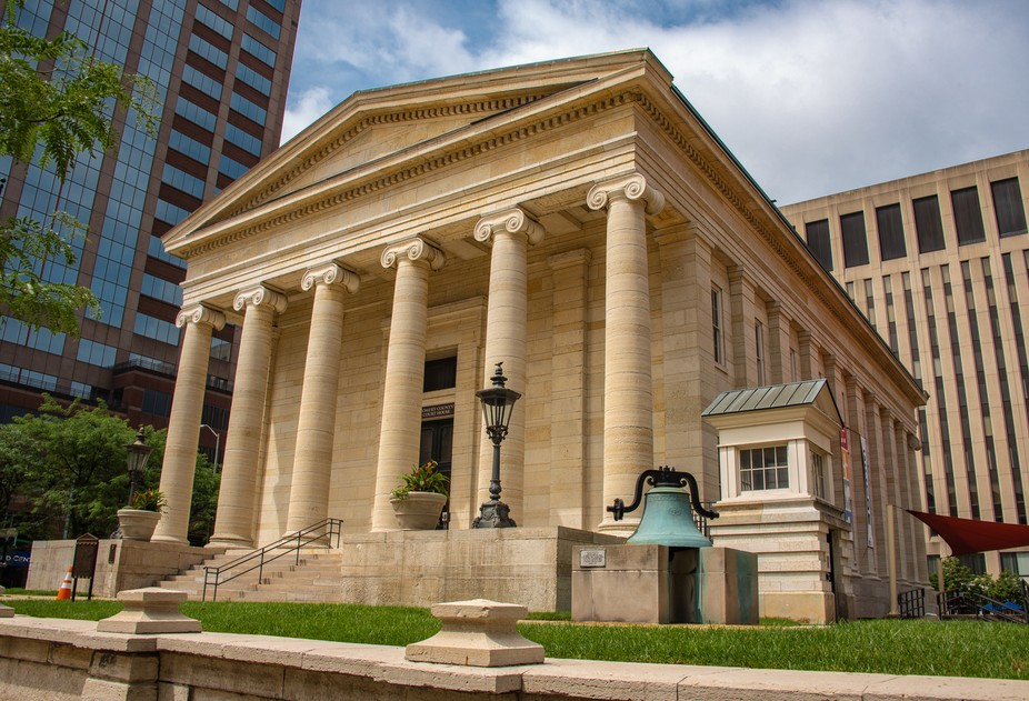 Begun in 1847 and completed in 1850, Montgomery County's original courthouse stands at t...