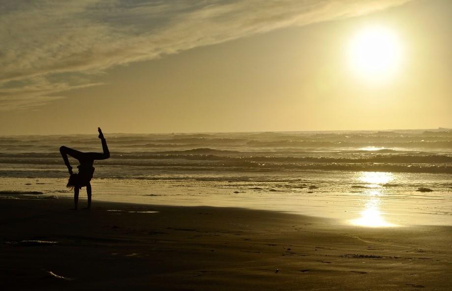 Taken at the Oregon coast