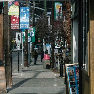 Voght Street in Merritt B C
