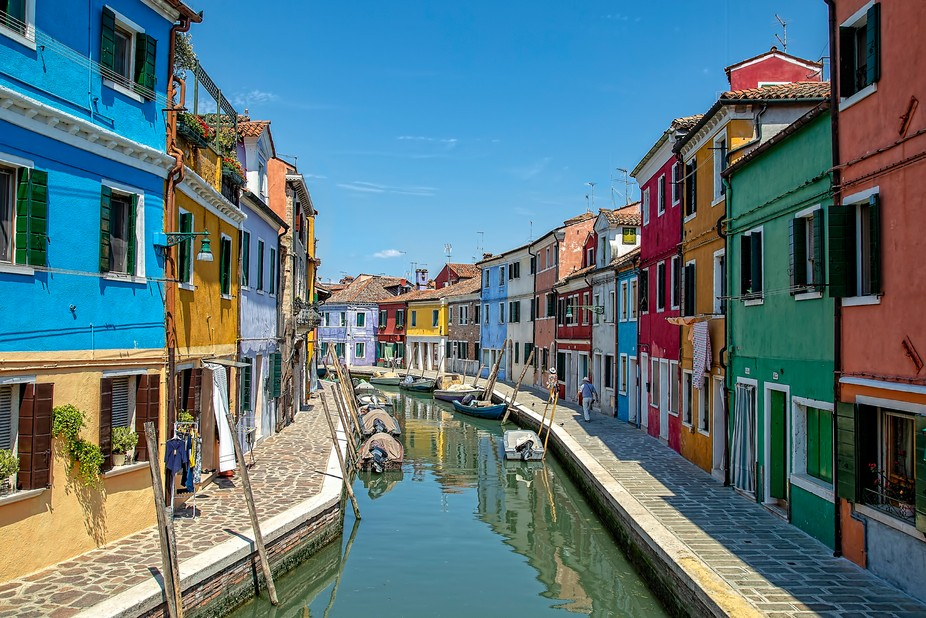 Burano is one of the islands in the Northern Venetian Lagoon. It's noted as being one of...