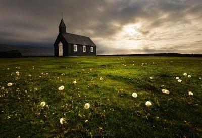 Black Church of Budir, Iceland