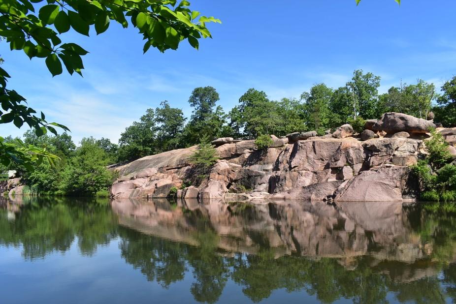 Reflection at Elephant Rocks