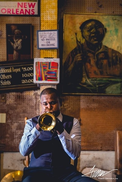 Will Smith at Preservation Hall