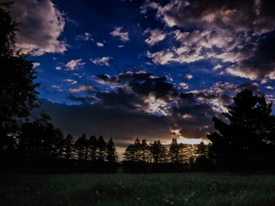 Morgan Creek Evening