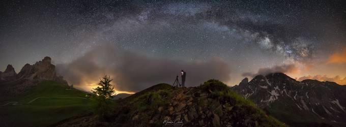 Passo Giau under the Milky Way by MaurizioCasulaPhoto - The Lifestyle Project