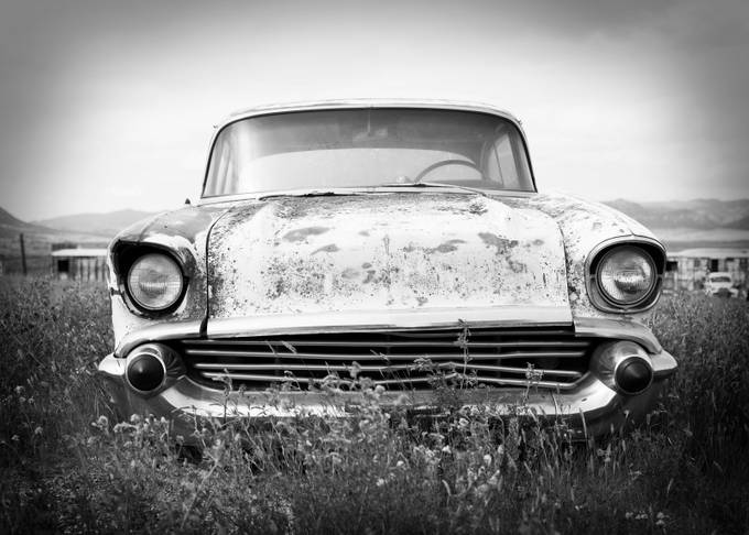 office cars BW #3 by scottwilliams - Image Of The Month Photo Contest Vol 34