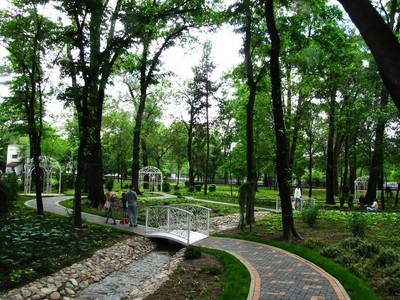 green park walking