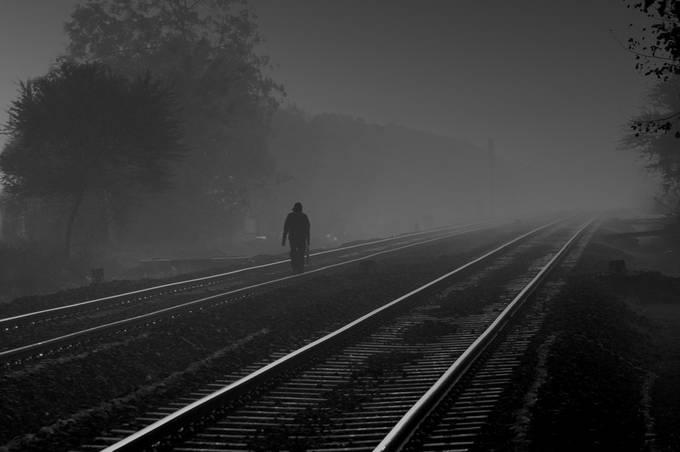 DSC-0059BW by RMPANDITPHOTO - A Walk In The Mist Photo Contest