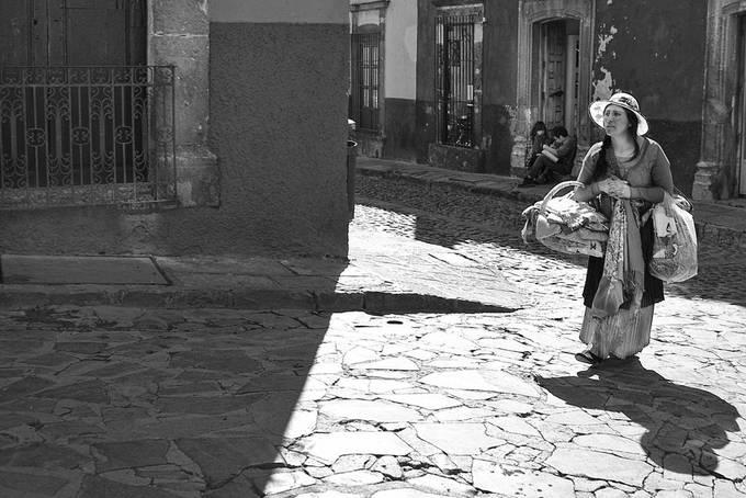 Vendor in San Miguel De Allende