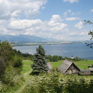 Europe, Slovakia, Liptovska Mara lake